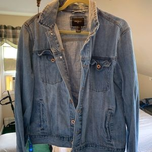 Men's large jean jacket